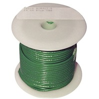 SINGLE CONDUCTOR TINNED MARINE PRIMARY WIRE, BULK-14 Ga Green 100