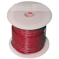 SINGLE CONDUCTOR TINNED MARINE PRIMARY WIRE, BULK-10 Ga Red 100