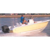 """V-HULL BOAT COVER, CENTER CONSOLE WITH HIGH BOW RAILS-18'6"""" x 96"""" Beam"""