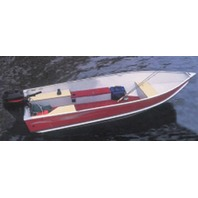 "V-HULL FISHING BOAT COVER, WIDE SERIES-16'6"" x 76"" Beam"