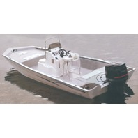 """COVER for ALUMINUM MODIFIED V-HULL JON BOATS W/HIGH CENTER CONSOLE-23'6"""" x 100"""""""