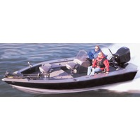 """V-HULL FISHING BOAT COVER, SIDE CONSOLE-17'6"""" x 92"""" Beam"""