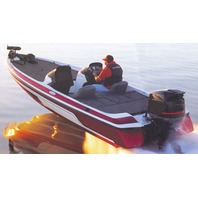 "WIDE BASS BOAT COVER-18'6"" x 96"" Beam"