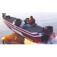 "WIDE BASS BOAT COVER-19'6"" x 96"" Beam"