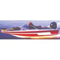 "FISH & SKI BOAT COVER, WALK-THRU WINDSHIELD-20'6"" x 96"" Beam"