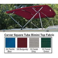Cadet Gray Replacement Canvas Fabric for 4 Bow 8' Square Tube Pontoon Frame