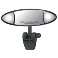 CIPA ELLIPSE 3-Section Ski Mirror with Pivot-Cup Mt Bracket