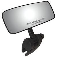 COMP II SKI MIRROR WITH PIVOTING BRACKET-Convex Mirror with Pivot-Cup Mt Bracket
