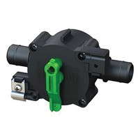 3-POSITION REVERSIBLE SHUT-OFF VALVE Auto/Recirc/Empty, Rear Cable