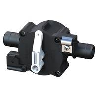 3-POSITION SELECT VALVE, QWIK-LOK-3-Pos Fill/Recirc/Empty, Rear Cable, 3/4  Qwik-Lok