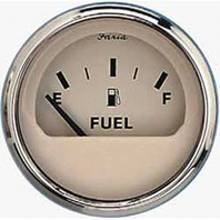 """EURO SERIES GAUGE, BEIGE/SS-2"""" Fuel Level Gauge"""