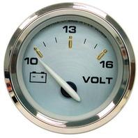"""KRONOS SERIES GAUGE-2"""" Voltmeter, 10-16 VDC 19004"""