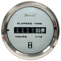 """KRONOS SERIES GAUGE-2"""" Hourmeter, 10,000 Hrs, 12-32 VDC"""