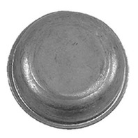 "1927 Fulton Wesbar Zinc Plated GREASE CAP Fits 2-7/16"" dia. Hub"