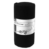 "MARINE GRADE BUNK CARPETING-12"" x 12' Black"