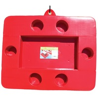 CONNECTABLE COOLER TRAY-Red