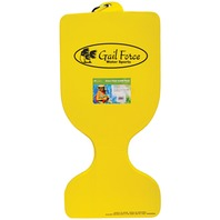 Gail Force Extra Thick Saddle Float, Yellow