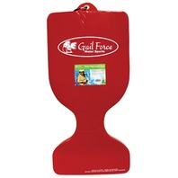 Gail Force Extra Thick Saddle Float, Red