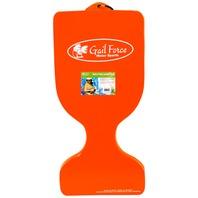 Gail Force Extra Thick Saddle Float, Orange