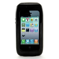 WS13B Wave 2 Waterproof Smartphone iPhone 4, 4S Case, Black