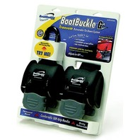 "BOATBUCKLE G2 RETRACTABLE TRANSOM TIE DOWNS-43"" Retractable, Pair"