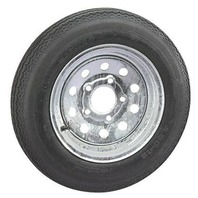 RIM & TIRE ASSEMBLY, MODULAR WHEEL, GALVANIZED-ST175/80D13; 5-Hole Modular Rim; Load Range C