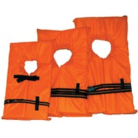AK-1 LIFE VEST-Child Med 50-90 lbs.; Youth Orange