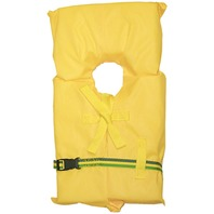 AK-1 LIFE VEST-Child Small under 50 lbs. Yellow