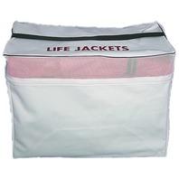 """LIFE JACKET VINYL STORAGE BAG-16"""" x 12"""" x 21"""""""