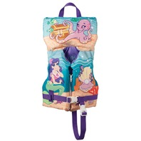FULL THROTTLE   CHILD'S CHARACTER VEST-Infant up to 30 lbs, Mermaid Design