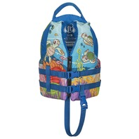 "FULL THROTTLE WATER BUDDY CHILD VEST- 20-25"", 30-50 lbs, Turtle Life Jacket"