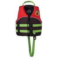 "FULL THROTTLE WATER BUDDY CHILD VEST- 20-25"", 30-50 lbs, Ladybug Life Jacket"