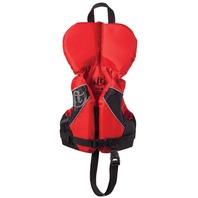 FULL THROTTLE INFANT, CHILD NYLON WATER SPORTS VEST-Infant Up to 30 lbs, Red
