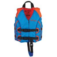ALL-ADVENTURE YOUTH AND CHILD VEST-Child 30-50 lbs, Blue/Orange