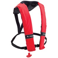 MANUAL INFLATABLE LIFE VEST-Manual Vest, Uses 24 Gram Rearm Kit K301