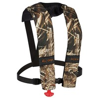 MANUAL INFLATABLE LIFE VEST-Adult Manual Vest, Realtree Max-5