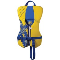 FULL THROTTLE  INFANT, CHILD RAPID DRY VESTS-Infant Up to 30 lbs, Yellow