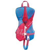 FULL THROTTLE  INFANT HINGED RAPID DRY FLEX-BACK VEST-Infant Up to 30 lbs, Pink