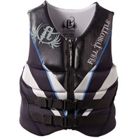 "FULL THROTTLE   NEOPRENE FLEX-ZONE VEST-2XL, 48-52"", Black  (While Qtys Last)"