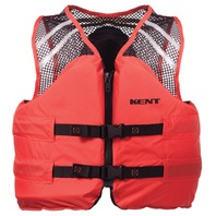 "DELUXE COMMERCIAL MESH VEST TYPE III-X-Large 44-48"", Orange"