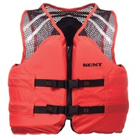 "DELUXE COMMERCIAL MESH VEST TYPE III-3XL 52-56"", Orange"