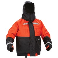 "DELUXE FLOTATION JACKET W/ ARCTICSHIELD TECHNOLOGY HOOD-XL, 44 - 48"", Orange/Black"