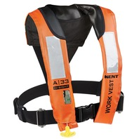 A-33 IN-SIGHT AUTOMATIC INFLATABLE WORK VEST-A-33 In-Sight Auto Inflatable Work Vest