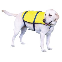 ONYX NYLON PET VEST-X-Small, 8-15 lbs, Yellow/Navy