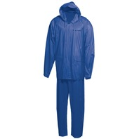 ONYX PVC RAINSUIT-Royal Blue, Adult Large