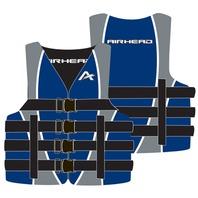 """AIRHEAD NYLON SKI VEST-2XL/3XL, Blue Life Jacket 52-60"""""""
