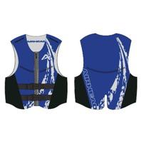 AIRHEAD  SWOOSH NEOLITE SKI VEST, ADULT-Small NeoLite Vest, Blue