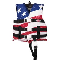AIRHEAD  STARS & STRIPES GENERAL BOATING VEST, Child 30-50 lbs