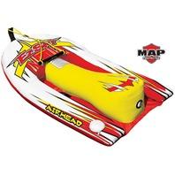 "AIRHEAD Big EZ Ski Inflatable Ski Trainer 1 Rider, 120 lbs. Capacity,  56""L"