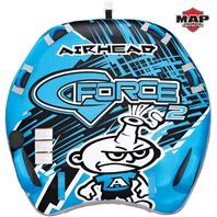 """AIRHEAD  G-FORCE  2-RIDER TOWABLE-G-Force Tube, 2-Rider, 64"""" x 60"""""""